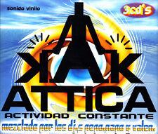 ATTICA - ACTIVIDAD CONSTANTE DJ PEPO, NAPO Y VALEN TRIPLE CD SPAIN 2000