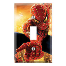 Spiderman Decorative Single Toggle Light Switch Wall Plate Cover SH05B