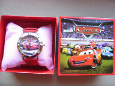 CARS BOXED WRIST WATCH KIDS BOYS CHILDS TOY GIFT BOX UK SELLER