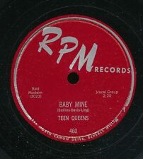 13pc78-R&B vocal group -RPM 460- The Teen Queens-alternate takes