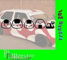 Sushi familia hater JDM Sticker Adhesivo OEM Power Fun like Shocker Drift