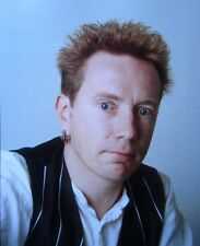 JOHN LYDON clipping Sex Pistols color photo Rotten '90s singer PIL punk headshot