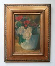 IVAN OLINSKY Russian American Artist Original Signed Early Oil Painting- LISTED