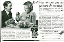 """Publicité Ancienne """" Gâteaux Levure ALSA  1935 ( P 35 )"""