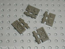 LEGO OldDkGray Plate 1 x 2 with Handle 2540 / Set 7184 7106 4489 7121 7103 7128