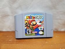 Mario Golf Nintendo 64, 1999 Tested And Working- Nice Condition.