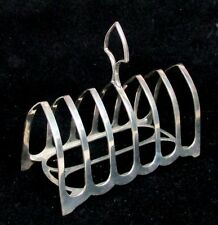 1910 SHEFFIELD STERLING SILVER TOAST (NAPKIN) RACK