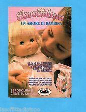 TOP990-PUBBLICITA'/ADVERTISING-1990- GIG - SBRODOLINA UN AMORE DI BAMBINA
