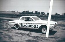 """1960s Drag Racing-""""The RAMCHARGERS""""-1962 Super/Stock 413 Dodge Dart-Detroit,Mich"""