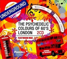 Various Artists-Pyschedelic Colours Of 60`S London CD NEW