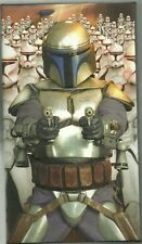2016 Topps Star Wars Attack Of The Clones 3D Widevision 44 Card Base Set / 2500