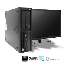 HP Z230 SFF Workstation D1P42AV E3-1245v3 3.40GHz /8GB RAM/ 256GB SSD / Win7
