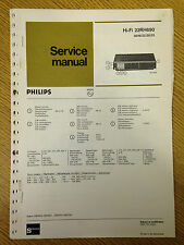 Philips 22RH690 Tuner Amplifier Service Manual - Vintage HiFi Audio 60's 70's