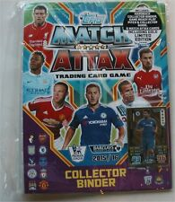 2015 / 2016 Topps Match Attax English Premier League Soccer Card Starter Kit.