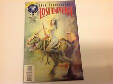 LOST UNIVERSE #2 MAY 1995 Gene Roddenberry's Tekno Comix