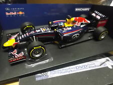 F1 red Bull racing renault rb10 saison 2014 démon MINICHAMPS NEW NEUF 1:18