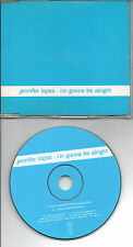 JENNIFER LOPEZ I M GONNA BE ALRIGHT RARE EU PROMO CD