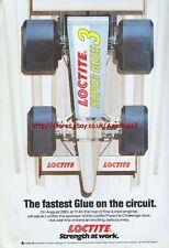 Loctite Super Glue 3 1988 Magazine Advert #3928