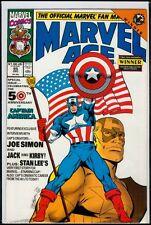 Marvel Comics MARVEL AGE #95 Captain America NM 9.4