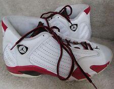 Nike Air Jordan 14 XIV Retro 2006  Size 9.5 Style 311832-101 EUC Candy Cane