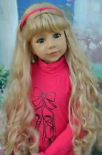 Masterpiece Christina, Long Blonde Wig, Fits Up to 20-inch Head, New In Bag