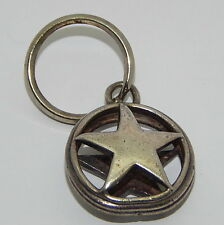 DC Comics Silver .925 Star Key Chain Keychain 1.25 Inches
