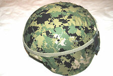NEW ORIGINAL US NAVY GENTEX LEVEL IIIA ACH MICH KEVLAR COMBAT HELMET - MEDIUM