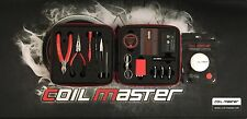 Authentic Coil Master DIY V2 KIT TOOL SET + COTTON | DIY COIL RDA COILER JIG