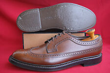 Florsheim Royal Imperial us talla 9 d (42) absoluta rareza V-cleat Scotch grain