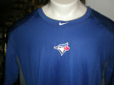 NEW TORONTO BLUE JAYS NIKE DRI FIT FITTED PERFORMANCE S/S T-SHIRT SZ:3XL 3X XXXL