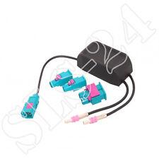 AUDI SEAT SKODA VW Antennenadapter DIVERSITY für Fahrzeuge mit 2 Antennen FAKRA