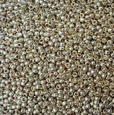 20grams Toho Size 6 Seed Beads Perm finish Galvanized Aluminium -PF558