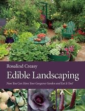 Edible Landscaping Rosalind Creasy Paperback Book Self Reliance Free Shipping