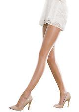 Sideria 5 deniers collants pour chaussures ouvertes transparent chair clair mat naturel m/l bikini