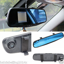 "2.4"" HD Car Suv DVR Rearview Mirror Camera IR Video 1080P Vision Cam Recorder"
