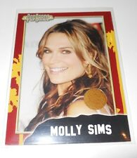 PopCardz Costume Trading Card #12 Molly Sims (V.2)
