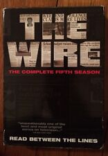 The Wire - The Complete Fifth Season (DVD, 2008, 4-Disc Set)