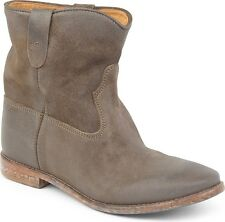 Isabel Marant Taupe Crisi Hidden Wedge Ankle Boot FR38 $770 NIB