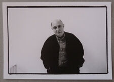 Photo Portrait du Photographe Raymond Depardon en 1999