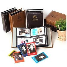 Vintage BROWN Photo Album for Fujifilm INSTAX MINI 50s 7 8s NEO 90 instant film