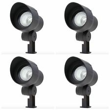 Low Voltage Outdoor Garden Landscape Pathway Flood Light Lighting 4 Pack Lights