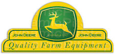 65x30cm John Deere Shield Tin Sign