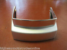 VESPA PX 125 GENUINE CHROME PLASTIC REAR BUMPER SURROUND GENUINE 219110 EB17