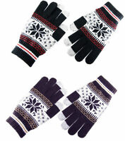 Touch Screen Winter Magic Warm Gloves For iPhone iPad Phone Unisex Ladies Mens