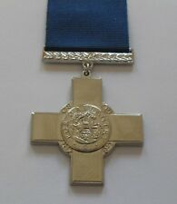 MEDALS - GEORGE CROSS MEDAL AND RIBBON - FULL SIZE.