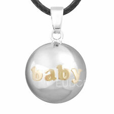 BABY Chime ball Harmony ball Angel Caller pendant pregnancy bola bell Necklace