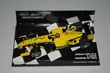 Minichamps F1 1/43 JORDAN FORD EJ14 TIMO GLOCK CANADIAN GP 2004 Limited Edition