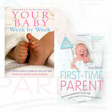 First-Time Parent 2 Books Collection Set Your Baby Week By Week,Paperback ,New