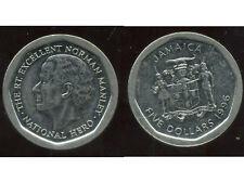 JAMAIQUE  five  5 dollars  1996   ( bis )