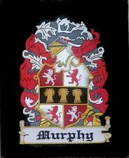 Celtic Irish Murphy Scottish Family Clan Name Birthday Reunion Crest Seal Patch
